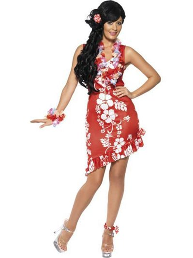 Bellezza hawaiana - Costume adulto