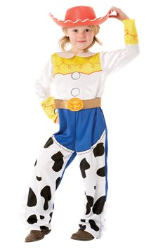 Jessie Toy Story Deluxe - Costume bambina