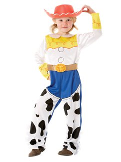 Costume per bambina Jessie Toy Story Deluxe