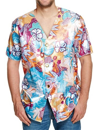 Camicia Hawaiana - Costume Adulto