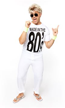Made in the 80's - Costume Adulto
