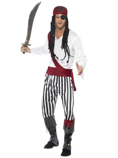 Pirata - Costume per adulto