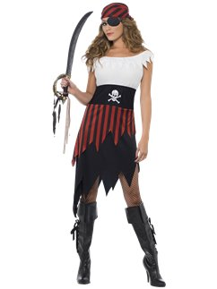 Donzella Pirata - Costume Adulto
