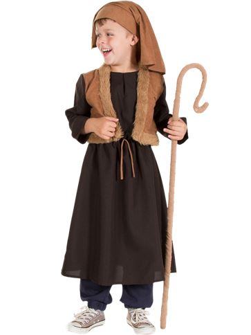 Pastore del presepe vivente - Costume Bambino | Party City