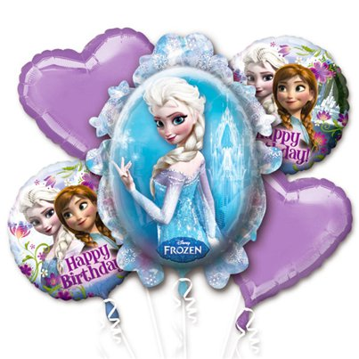 Frozen Disney - Bouquet di palloncini in foil