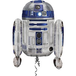 Palloncino in foil R2D2 Star Wars - 56 cm
