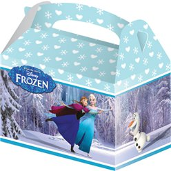 Scatole da regalo Frozen Disney sui pattini - 15 cm