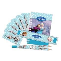 Set cancelleria Frozen Disney sui pattini
