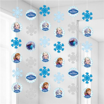Decorazioni da appendere Frozen Disney sui pattini
