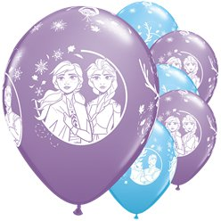 Palloncini Frozen 2 Disney in lattice - 28 cm