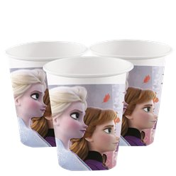 Bicchieri di carta Frozen 2 Disney - 200 ml