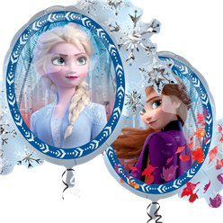 Palloncino Frozen 2 Disney in foil - 76 cm