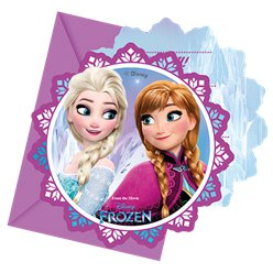 Inviti Frozen Disney - Cartoline di invito per feste
