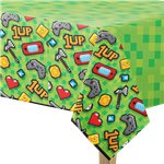 Tovaglia di plastica Game on - 1,37 , x 2,6 m