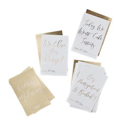 Carte con to do list Matrimonio d'oro