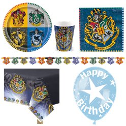 Set festa Harry Potter - Confezione deluxe per 8