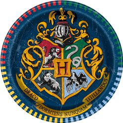 Piatti di carta Harry Potter - 17 cm