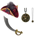 Set accessori da lady pirata