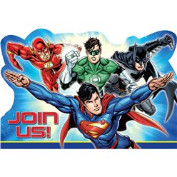 Justice League - Inviti per feste