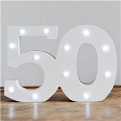 Decorazione luminosa per occasioni speciali - 50