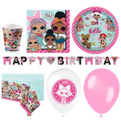 Set festa LOL Surprise - Confezione deluxe per 16