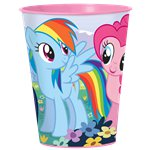 Bicchiere di plastica My Little Pony grande - 455 ml