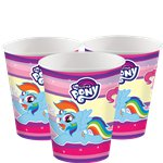 Bicchieri di carta My Little Pony - 266 ml