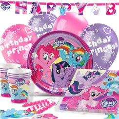 Set festa My little pony - Confezione deluxe per 16