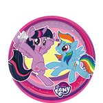 Piatti My Little Pony - Piatti di carta per feste 18 cm