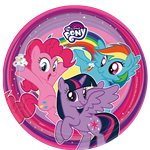Piatti di carta My Little Pony - 23 cm