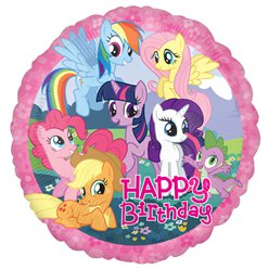 My Little Pony - Palloncino di compleanno in foil 45 cm