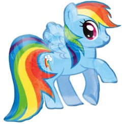 Palloncino My Little Pony a forma di Rainbow Dash - 71 cm