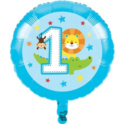 Palloncino in foil One is fun bambino - 43 cm