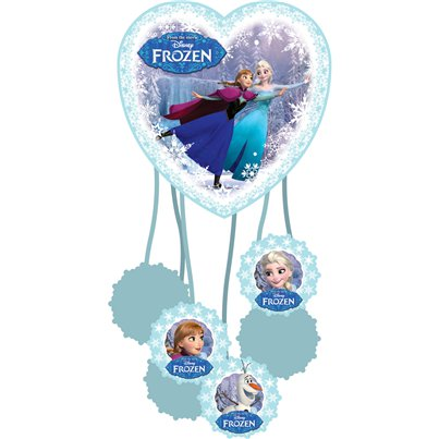 Pignatta Frozen Disney sui pattini