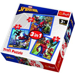 Puzzle Spider Man 3 in 1