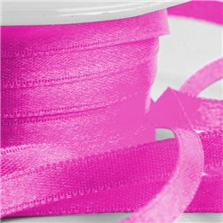 Nastro satinato fucsia - 6 mm