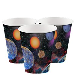 Bicchieri di carta Space Blast - 256 ml