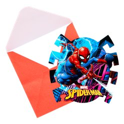 Cartoline di invito Spider Man Team-up