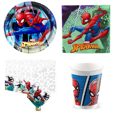Set festa risparmio Spiderman