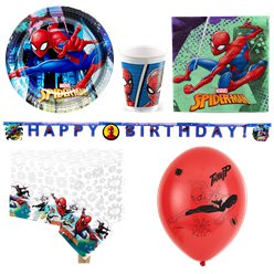 Set festa deluxe Spiderman