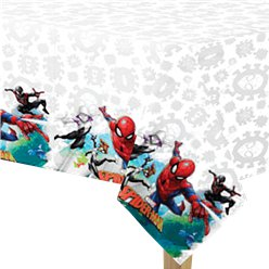 Tovaglia di plastica Spider Man Team-up - 1,8 m