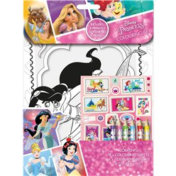 Set per colorare Principesse Disney