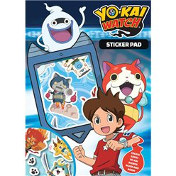Quaderno con adesivi Yo-Kai Watch