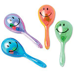 Mini maracas sorridenti