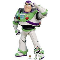 Sagoma di cartone Buzz Lightyear - 1,29 m