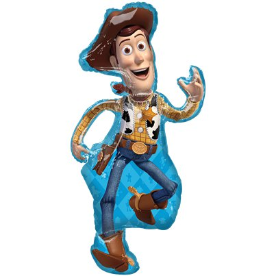 Palloncino in foil Woody Toy Story - 112 cm