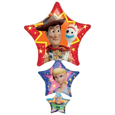 Palloncino in foil a stella Toy Story 4