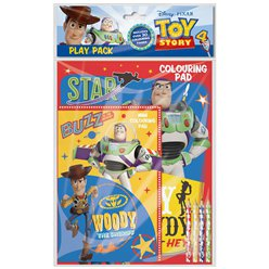 Set album da colorare con matite Toy Story 4