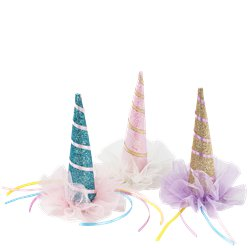Cappellino con molletta We love Unicorn