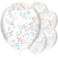 Palloncini in lattice con confetti Baby Wishes - 30 cm